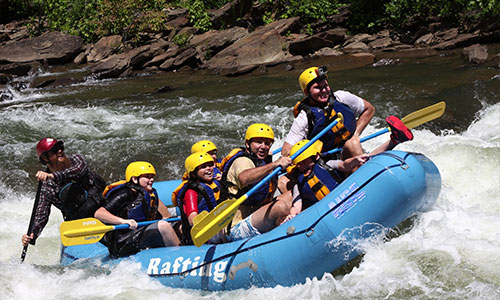 Ocoee River whitewater rafting in Tennessee with Ocoee Rafting ...