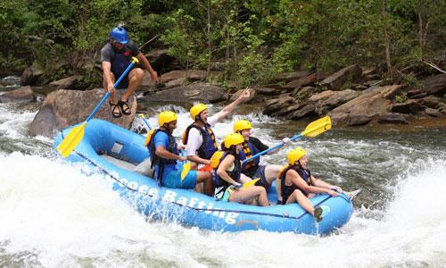 Ocoee River Rafting