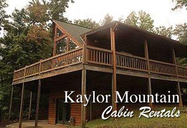 Kaylor Mountain Cabin Rentals